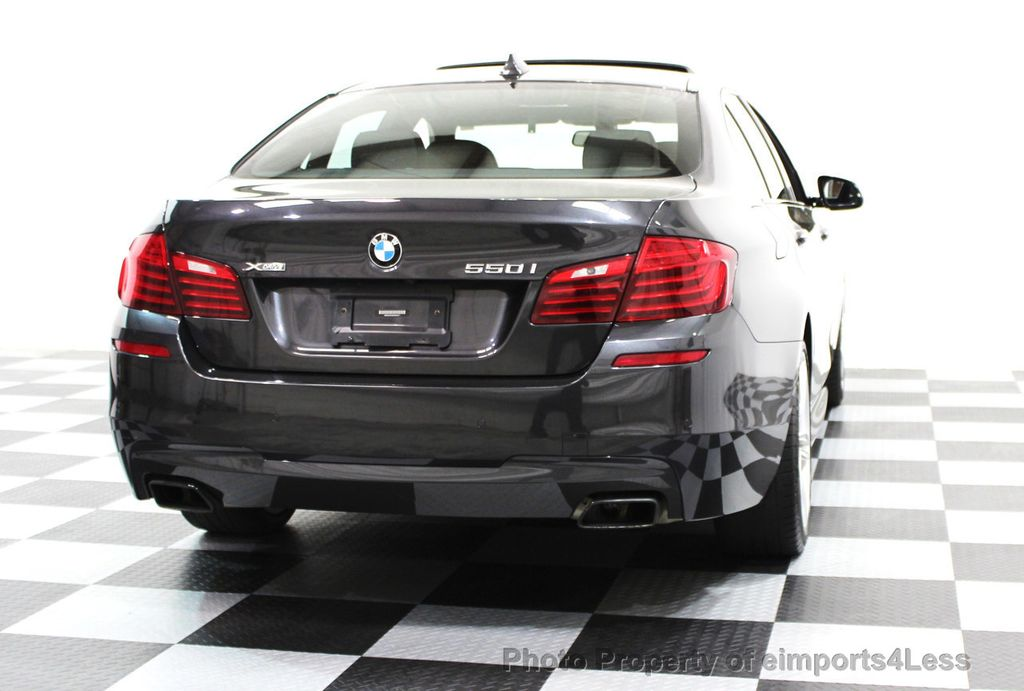 2014 BMW 5 Series CERTIFIED 550i xDRIVE M SPORT EXEC LIGHTING PACKAGE - 16417226 - 27