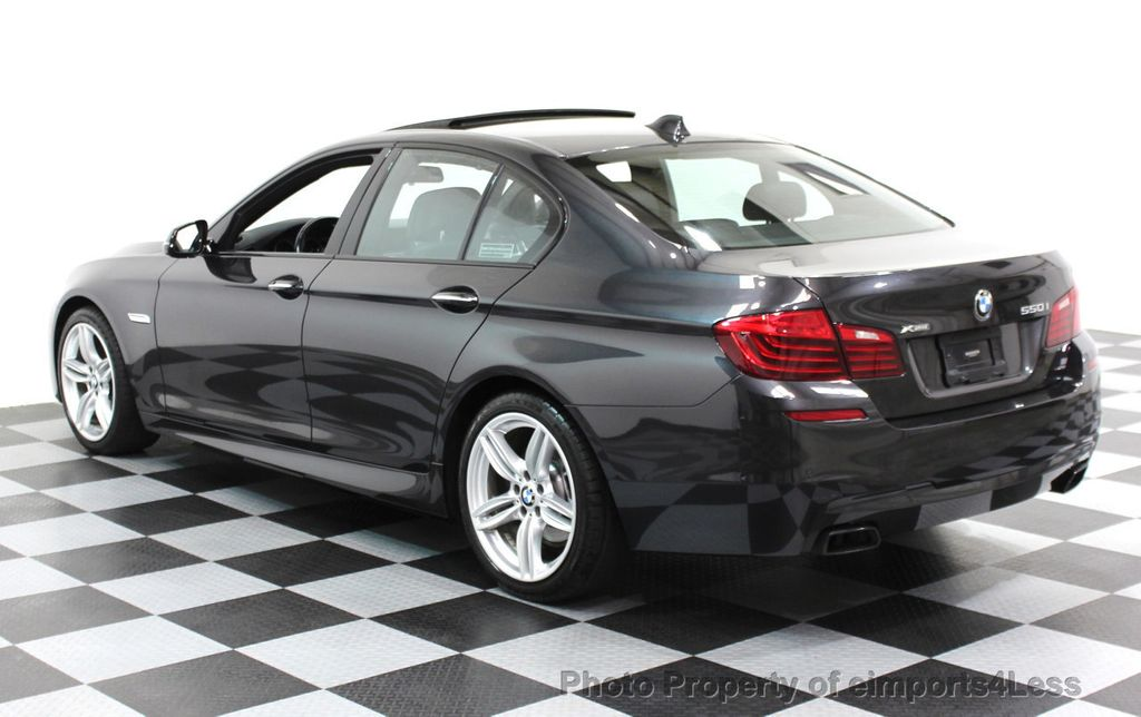 2014 BMW 5 Series CERTIFIED 550i xDRIVE M SPORT EXEC LIGHTING PACKAGE - 16417226 - 2