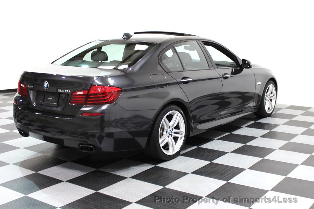 2014 BMW 5 Series CERTIFIED 550i xDRIVE M SPORT EXEC LIGHTING PACKAGE - 16417226 - 3
