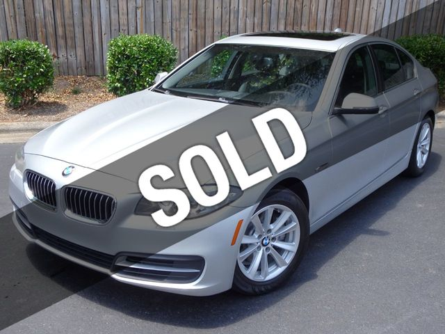 2014 Used BMW 5 Series - NAVIGATION - MOONROOF - BLUETOOTH - LOADED - at  Michs Foreign Cars Serving Hickory, NC, IID 18986780