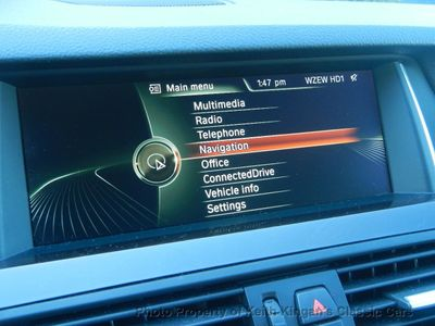 2014 BMW 5 Series w/NAVIGATION & HUD DISPLAY - Click to see full-size photo viewer