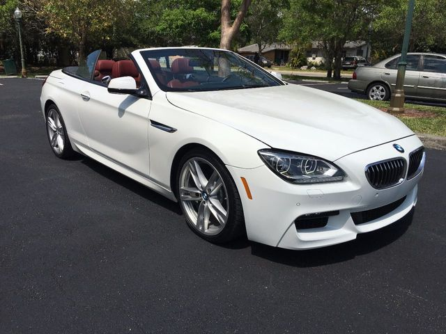 2014 used bmw 6 series 640i convertible at a luxury autos serving miramar fl iid 16347682. Black Bedroom Furniture Sets. Home Design Ideas