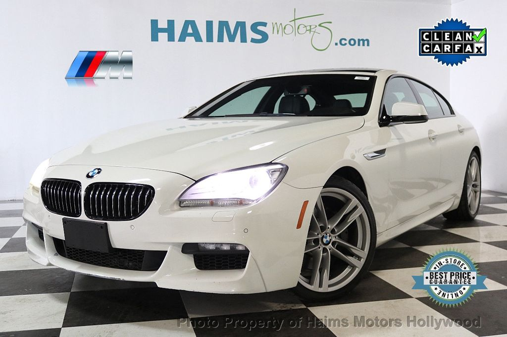 2014 BMW 6 Series 640i Gran Coupe - 17718858 - 0