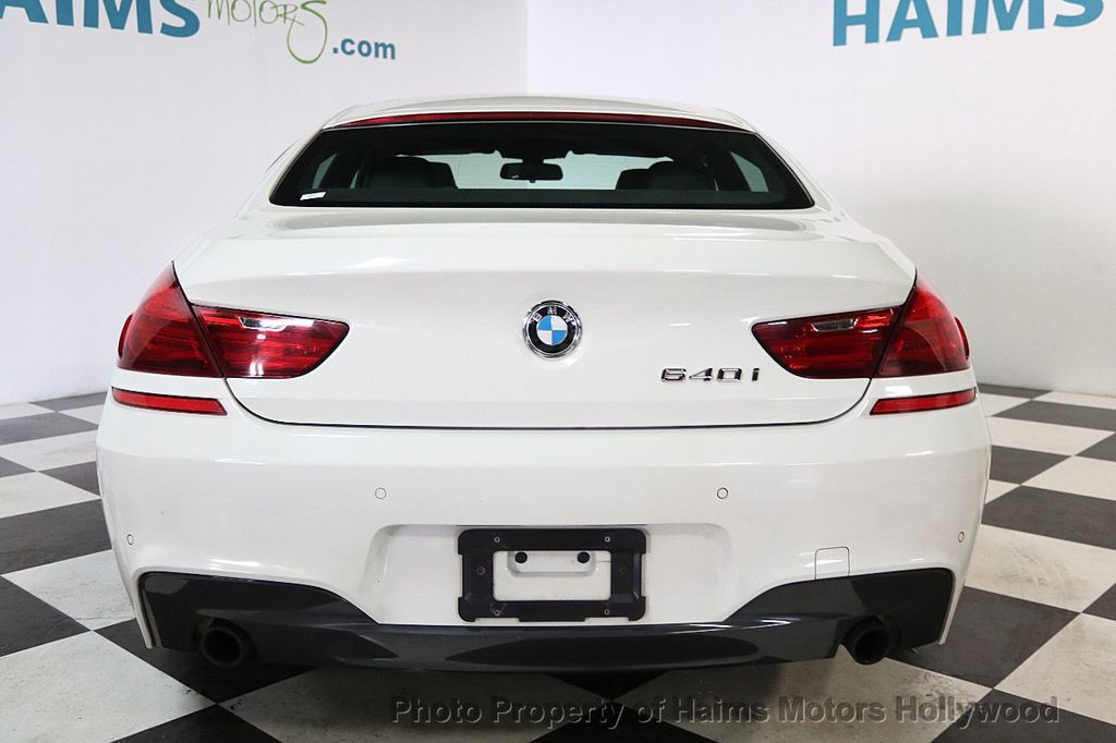 2014 BMW 6 Series 640i Gran Coupe - 17718858 - 5