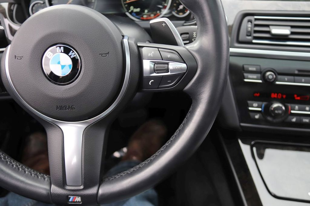 2014 BMW 6 Series 650i Gran Coupe with Driving Assist, Executive & M Sport Pkgs - 18610032 - 22