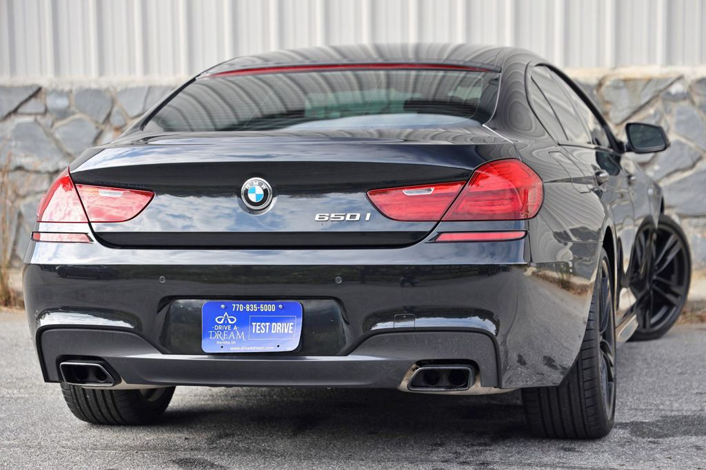 2014 BMW 6 Series 650i Gran Coupe with Driving Assist, Executive & M Sport Pkgs - 18610032 - 2