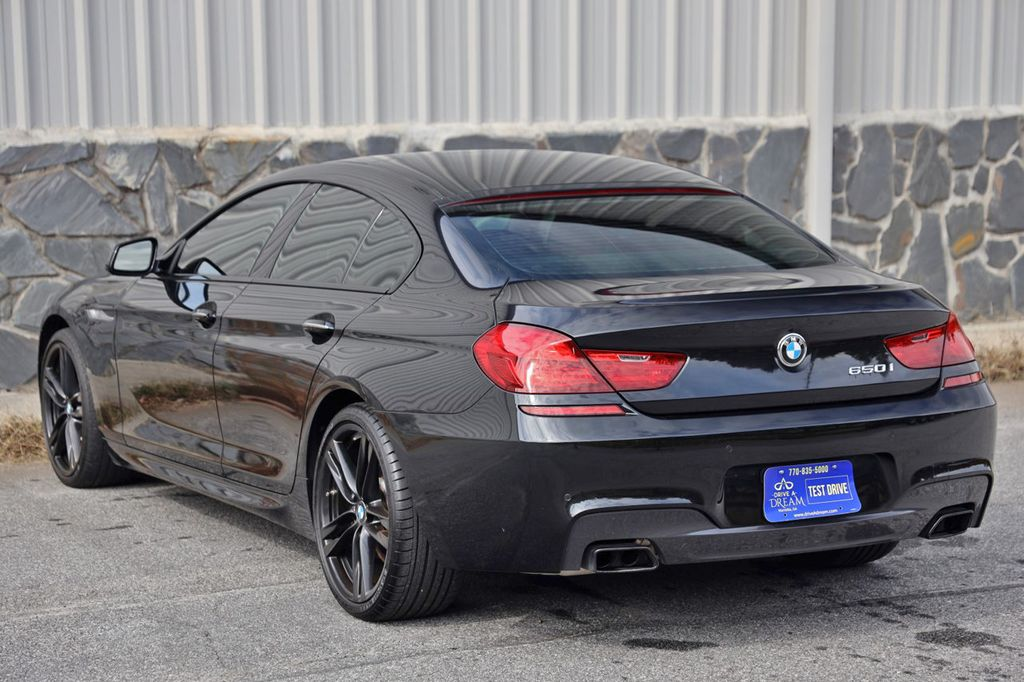2014 BMW 6 Series 650i Gran Coupe with Driving Assist, Executive & M Sport Pkgs - 18610032 - 53