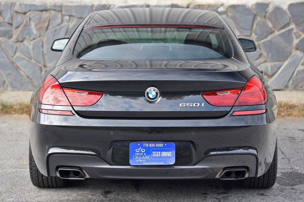 2014 BMW 6 Series 650i Gran Coupe with Driving Assist, Executive & M Sport Pkgs - 18610032 - 54