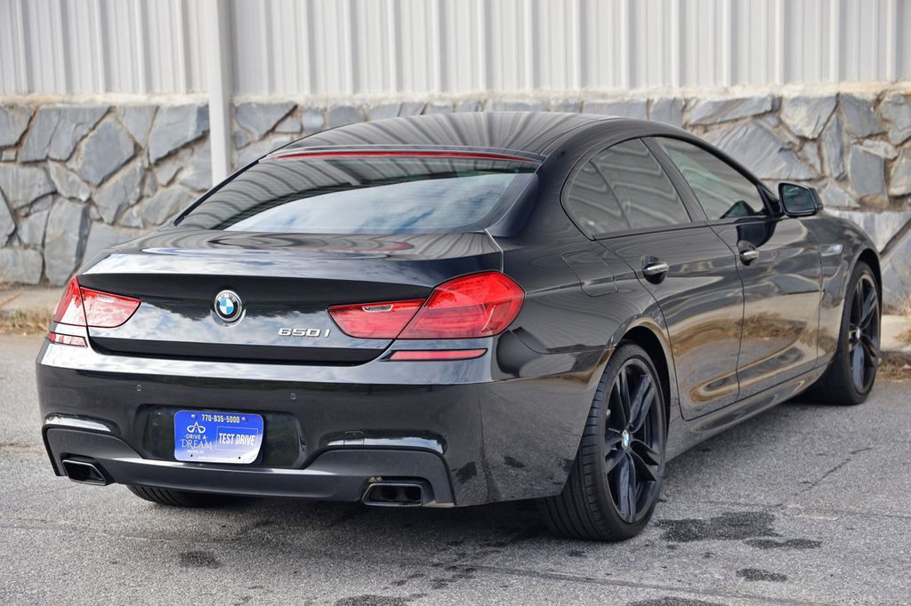 2014 BMW 6 Series 650i Gran Coupe with Driving Assist, Executive & M Sport Pkgs - 18610032 - 55