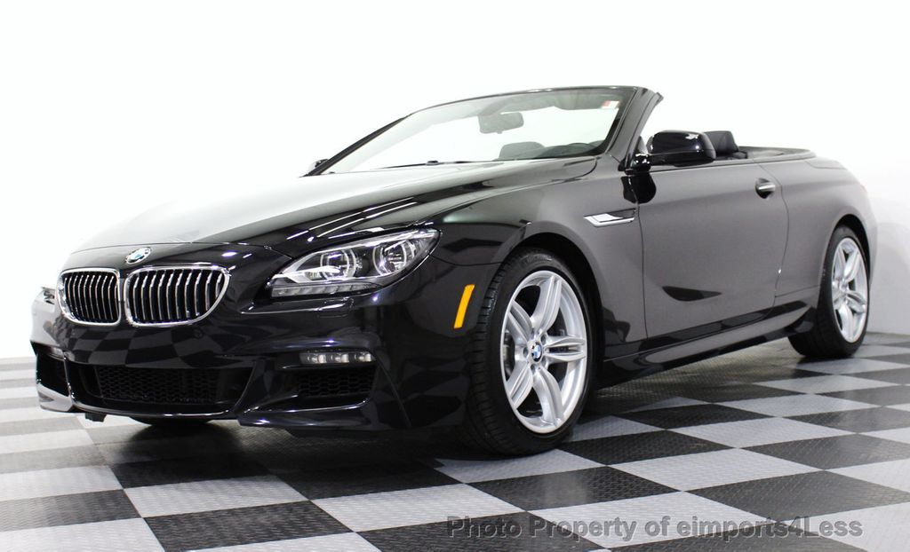 2014 used bmw 6 series certified 640i m sport convertible executive navigation at. Black Bedroom Furniture Sets. Home Design Ideas