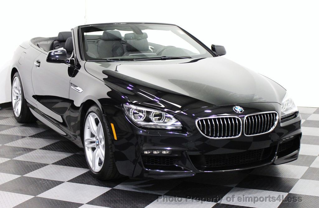2014 used bmw 6 series certified 640i m sport convertible. Black Bedroom Furniture Sets. Home Design Ideas