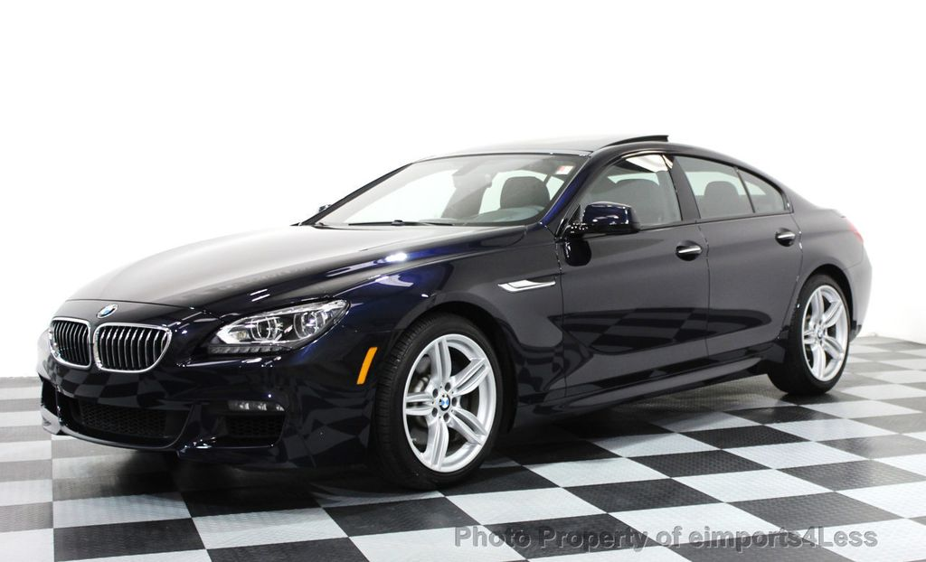 2014 BMW 6 Series CERTIFIED 640i xDRIVE Gran Coupe M SPORT 4DR EXEC NAVI - 15827904 - 0
