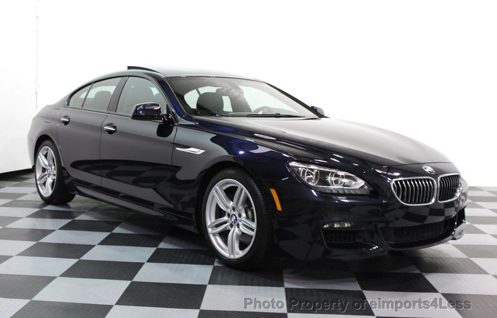 2014 Used BMW 6 Series CERTIFIED 640i xDRIVE Gran Coupe M ...