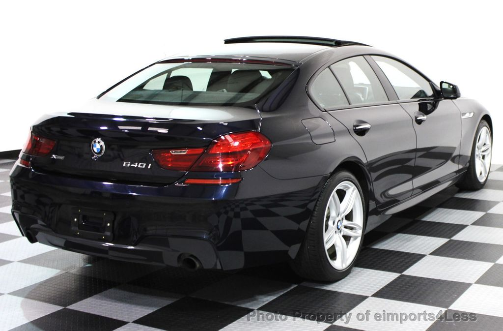 2014 BMW 6 Series CERTIFIED 640i xDRIVE Gran Coupe M SPORT 4DR EXEC NAVI - 15827904 - 21