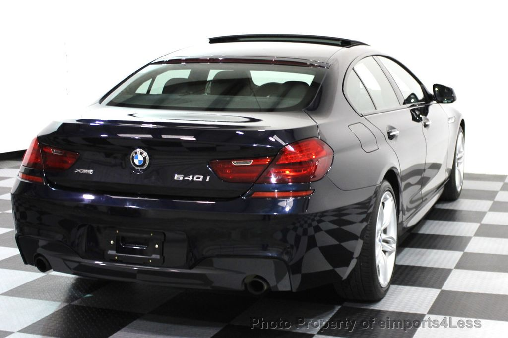 2014 BMW 6 Series CERTIFIED 640i xDRIVE Gran Coupe M SPORT 4DR EXEC NAVI - 15827904 - 28
