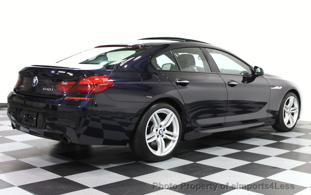 2014 BMW 6 Series CERTIFIED 640i xDRIVE Gran Coupe M SPORT 4DR EXEC NAVI - 15827904 - 29