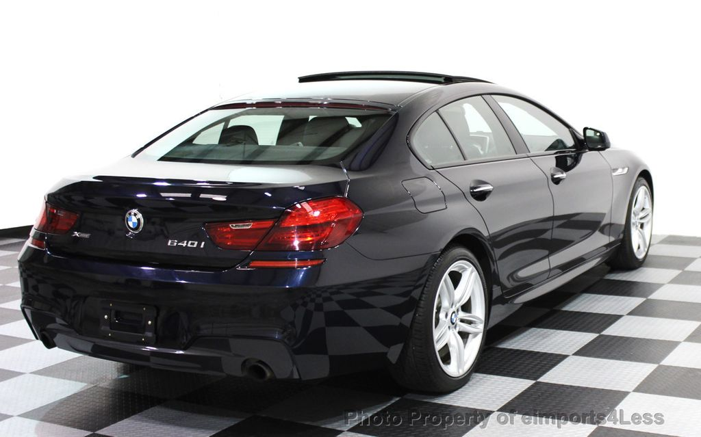 2014 BMW 6 Series CERTIFIED 640i xDRIVE Gran Coupe M SPORT 4DR EXEC NAVI - 15827904 - 3