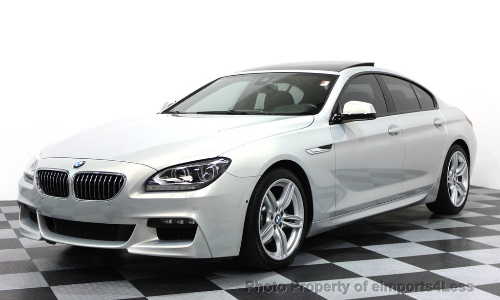 2014 Used Bmw 6 Series Certified 640i Xdrive Gran Coupe M Sport Awd 4 Door At Eimports4less