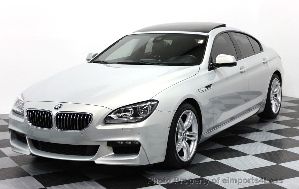 2014 Used BMW 6 Series CERTIFIED 640i xDRIVE GRAN COUPE M SPORT AWD ...
