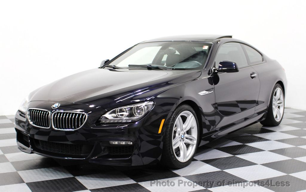2014 BMW 6 Series CERTIFIED 640i xDRIVE M Sport AWD COUPE EXEC / NAV - 16454294 - 0