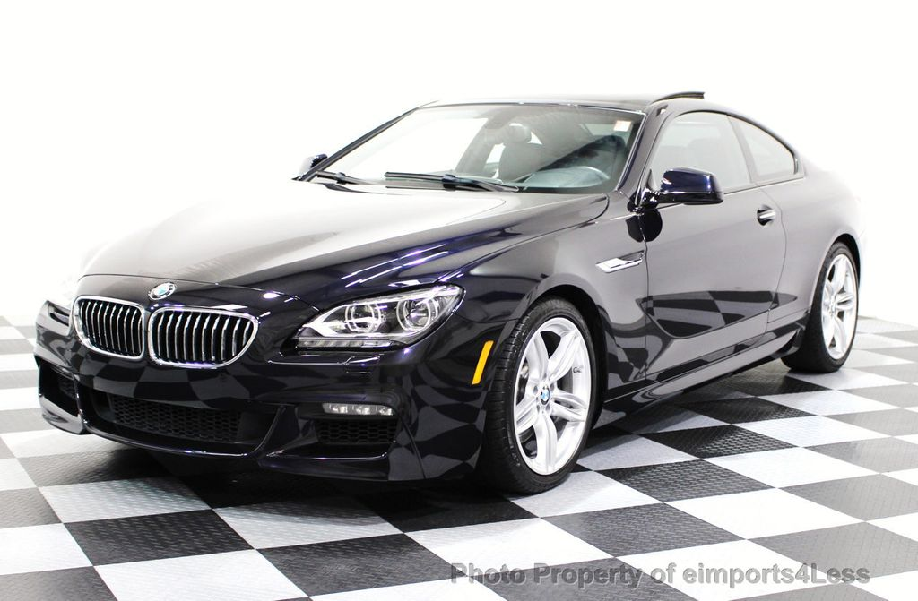 2014 BMW 6 Series CERTIFIED 640i xDRIVE M Sport AWD COUPE EXEC / NAV - 16454294 - 12