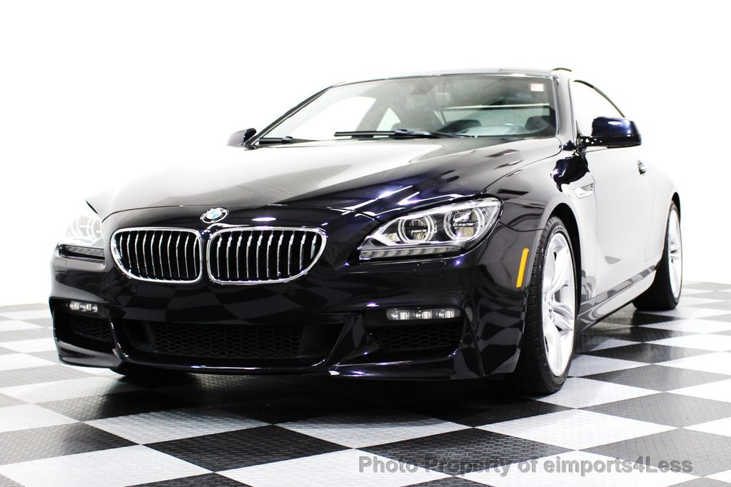 2014 BMW 6 Series CERTIFIED 640i xDRIVE M Sport AWD COUPE EXEC / NAV - 16454294 - 13