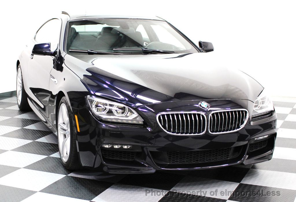 2014 BMW 6 Series CERTIFIED 640i xDRIVE M Sport AWD COUPE EXEC / NAV - 16454294 - 14
