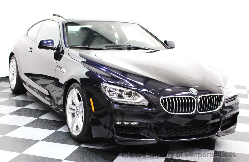 2014 BMW 6 Series CERTIFIED 640i xDRIVE M Sport AWD COUPE EXEC / NAV - 16454294 - 15