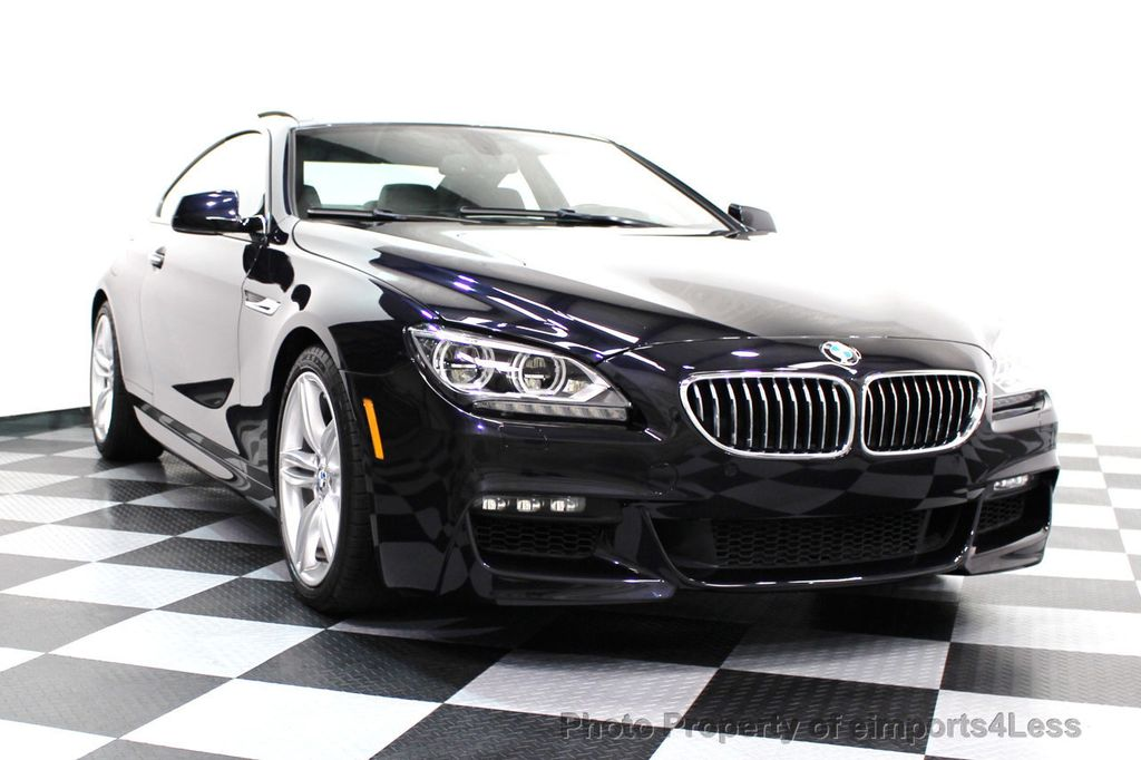 2014 BMW 6 Series CERTIFIED 640i xDRIVE M Sport AWD COUPE EXEC / NAV - 16454294 - 16