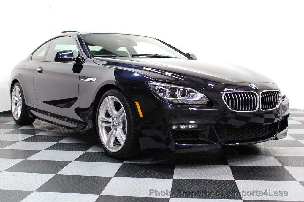 2014 BMW 6 Series CERTIFIED 640i xDRIVE M Sport AWD COUPE EXEC / NAV - 16454294 - 1