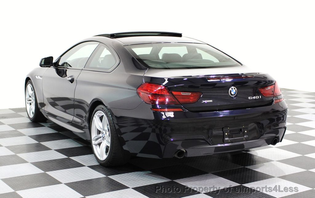 2014 BMW 6 Series CERTIFIED 640i xDRIVE M Sport AWD COUPE EXEC / NAV - 16454294 - 2