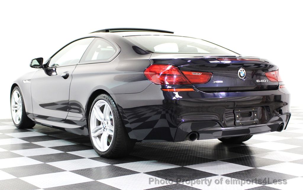 2014 BMW 6 Series CERTIFIED 640i xDRIVE M Sport AWD COUPE EXEC / NAV - 16454294 - 23