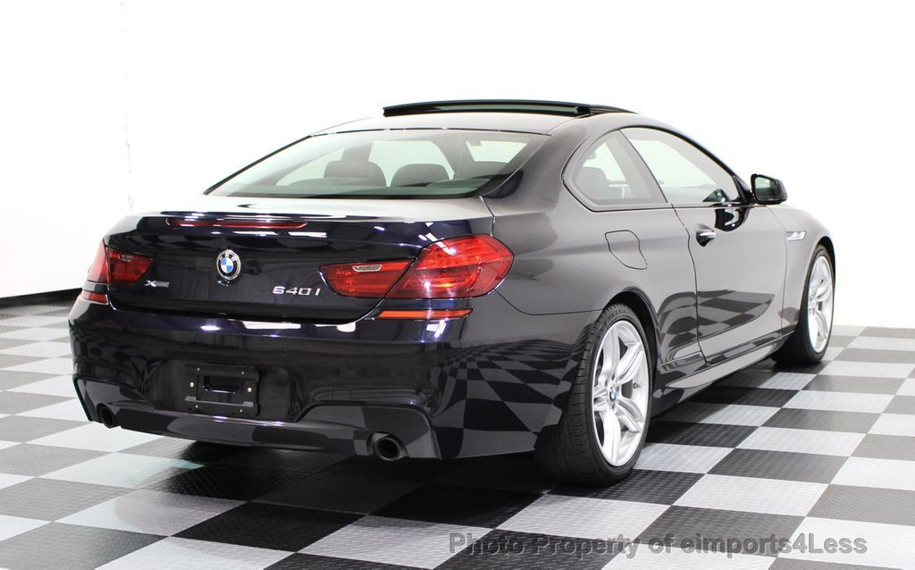 2014 BMW 6 Series CERTIFIED 640i xDRIVE M Sport AWD COUPE EXEC / NAV - 16454294 - 3