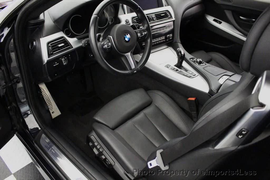 2014 Used Bmw 6 Series Certified 640i Xdrive M Sport Awd Coupe Exec
