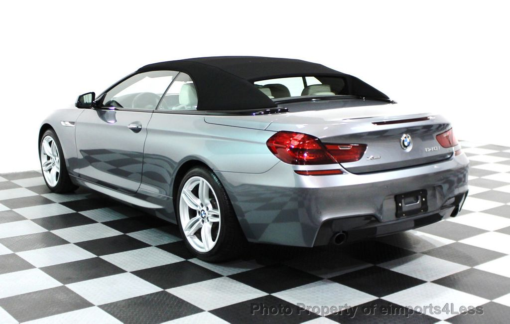 2014 BMW 6 Series CERTIFIED 640i xDRIVE M SPORT CABRIO EXECUTIVE - 16007893 - 16