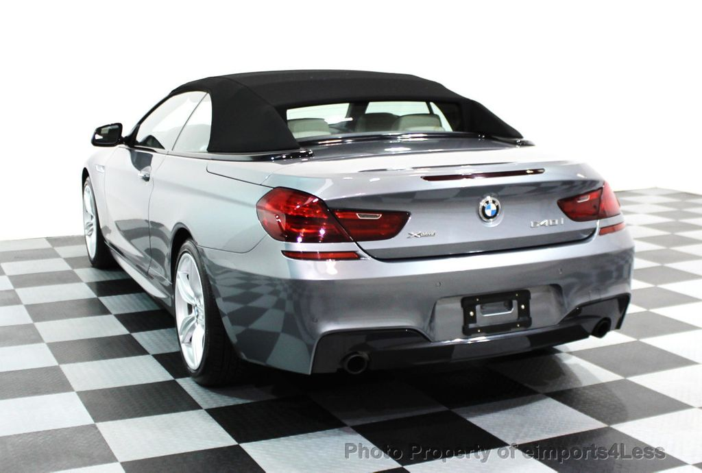 2014 BMW 6 Series CERTIFIED 640i xDRIVE M SPORT CABRIO EXECUTIVE - 16007893 - 17
