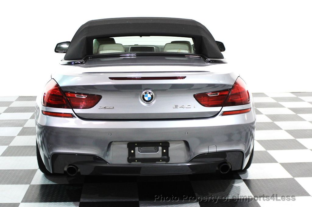 2014 BMW 6 Series CERTIFIED 640i xDRIVE M SPORT CABRIO EXECUTIVE - 16007893 - 18