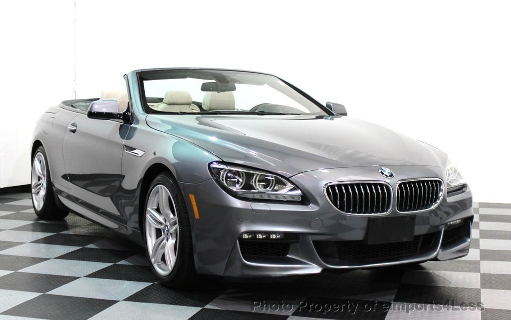 2014 BMW 6 Series CERTIFIED 640i xDRIVE M SPORT CABRIO EXECUTIVE - 16007893 - 1