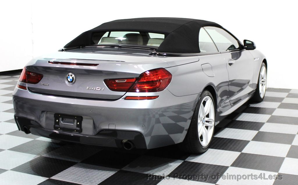 2014 BMW 6 Series CERTIFIED 640i xDRIVE M SPORT CABRIO EXECUTIVE - 16007893 - 19