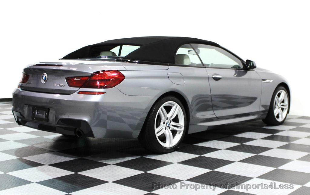 2014 BMW 6 Series CERTIFIED 640i xDRIVE M SPORT CABRIO EXECUTIVE - 16007893 - 20
