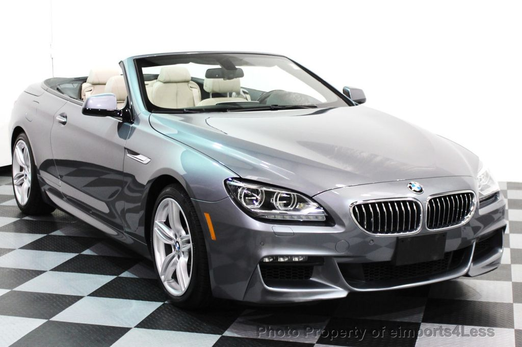 2014 BMW 6 Series CERTIFIED 640i xDRIVE M SPORT CABRIO EXECUTIVE - 16007893 - 25