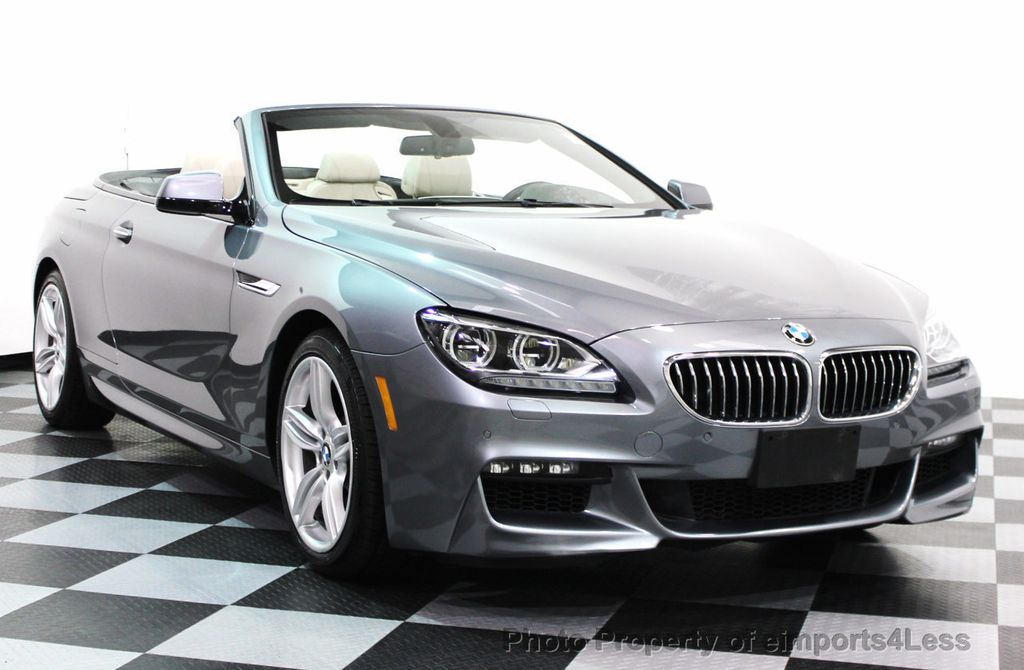 2014 BMW 6 Series CERTIFIED 640i xDRIVE M SPORT CABRIO EXECUTIVE - 16007893 - 26