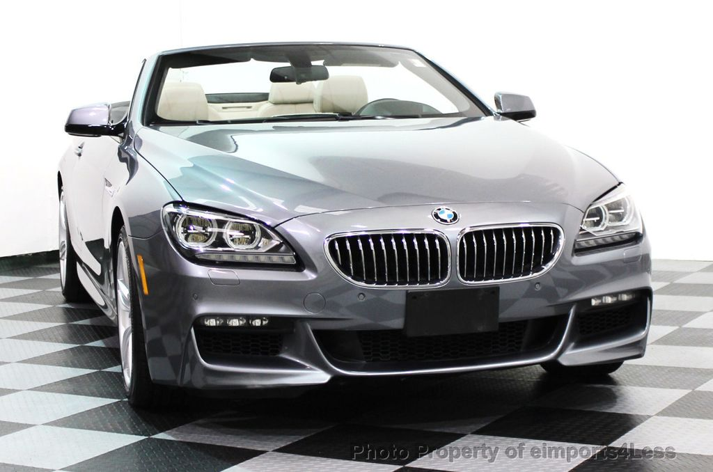 2014 BMW 6 Series CERTIFIED 640i xDRIVE M SPORT CABRIO EXECUTIVE - 16007893 - 27