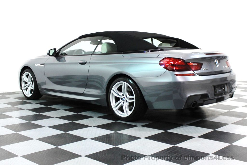 2014 BMW 6 Series CERTIFIED 640i xDRIVE M SPORT CABRIO EXECUTIVE - 16007893 - 28