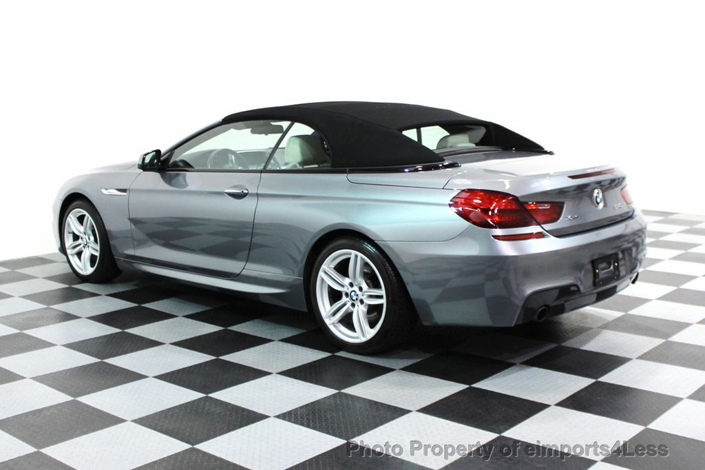 2014 BMW 6 Series CERTIFIED 640i xDRIVE M SPORT CABRIO EXECUTIVE - 16007893 - 29