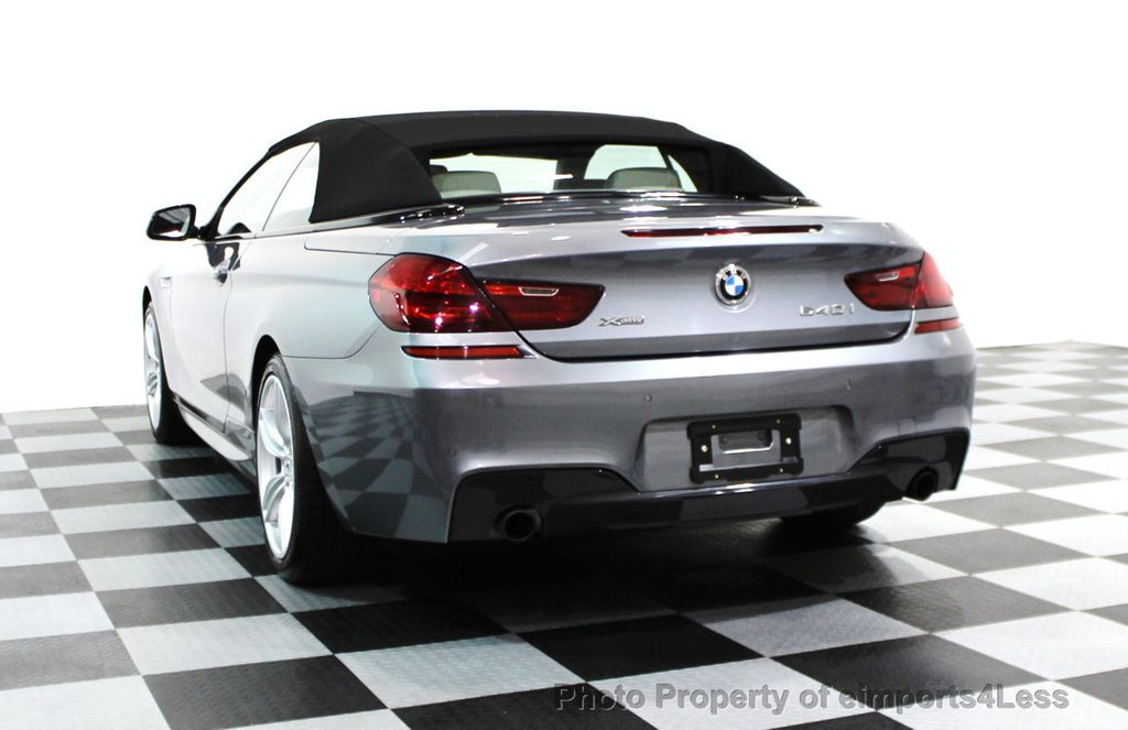 2014 BMW 6 Series CERTIFIED 640i xDRIVE M SPORT CABRIO EXECUTIVE - 16007893 - 30