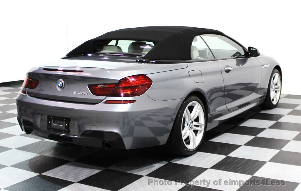 2014 BMW 6 Series CERTIFIED 640i xDRIVE M SPORT CABRIO EXECUTIVE - 16007893 - 32