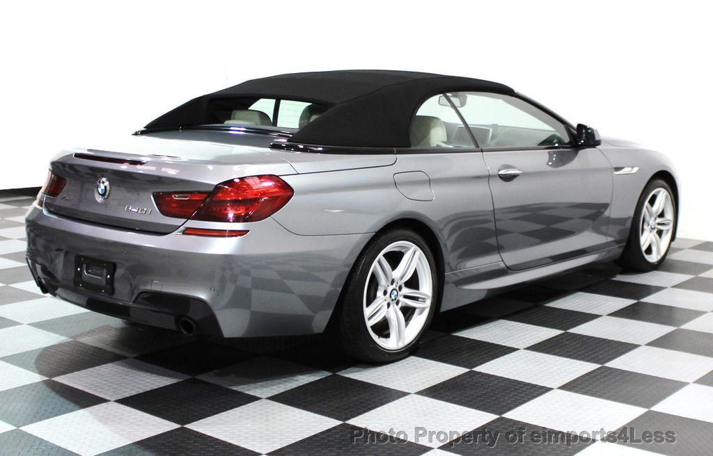 2014 BMW 6 Series CERTIFIED 640i xDRIVE M SPORT CABRIO EXECUTIVE - 16007893 - 33