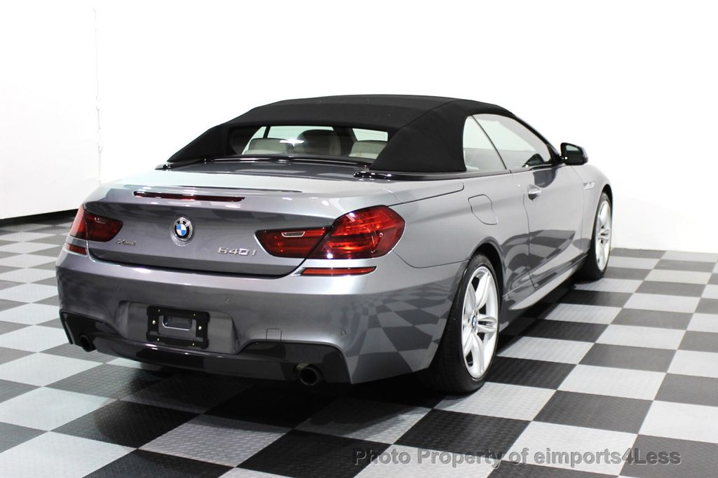 2014 BMW 6 Series CERTIFIED 640i xDRIVE M SPORT CABRIO EXECUTIVE - 16007893 - 3