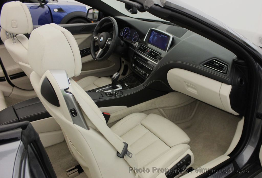 2014 BMW 6 Series CERTIFIED 640i xDRIVE M SPORT CABRIO EXECUTIVE - 16007893 - 42